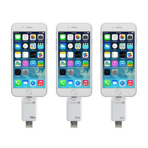 iFlash 16GB 32GB 64GB 128GB OTG APPLE iPhone iPad USB Pen Drive lot Memory Stick