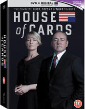 House of Cards: Seasons 1-3 (with UltraViolet Copy) [DVD]