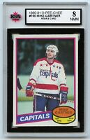 1980-81 OPC #195 Mike Gartner RC HOF Graded 8.0 NMM (*2020-337)