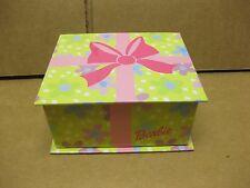 2001 Barbie Jewelry Box W/Barbie Heart Necklace!