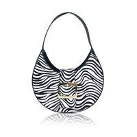 NEW Women's Designer Style Zebra Pattern Shoulder Bag Ladies Handbag