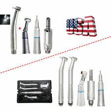 Nsk Style Dental Led High Fast Turbine Low Speed Handpiece 42 Hole Set Usa