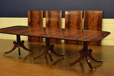 Hickory Chair Traditional Large Banquet Mahogany Dining Table 18 ft.