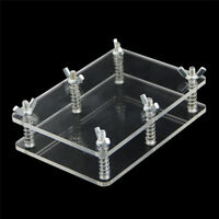 Transparent Poker Plate Holder Care Protect Poker Magic Props Magic Accessories