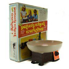 1978 NSi Pottery Wheel Workshop Vintage Motorized Art Crafts Toy Potters