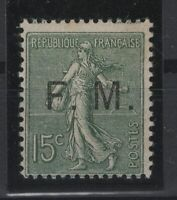 i129292/ FRANCE / MILITARY STAMPS / Y&T # 3 MINT MH – CV 94 $