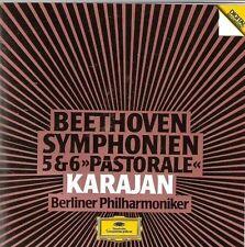 Beethoven Symphonie Nr. 5, op. 67/Nr. 6, op. 68 'Pastorale' (DG, 1984) [CD]