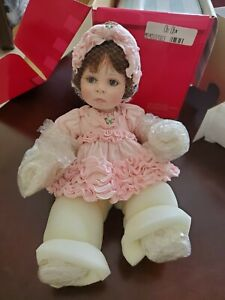 """RARE~ NRFB ~Marie Osmond """"OH OH"""" Interactive Porcelain Doll ~Adorable NEW!"""