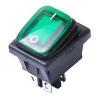 Beleuchtet Wippschalter Spritzwassergeschützt IP65 Kippschalter 4x 2 O3U1