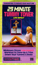 29 Minute Tummy Toner - Low Impact ~ VHS Movie Video ~ Vintage Workout Exercise