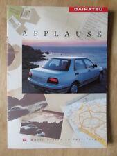 DAIHATSU APPLAUSE orig 1990-91 UK Mkt Sales Brochure