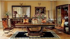 Baroque Rococo Style Furniture Dining Table Room Set 8 Chairs + E26