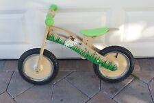 Smart Gear - Toddler Balance Bike - Green Toddler wooden bike Balance first bike