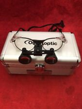 ONE PAIR ORASCOPTIC Dental Loupe Glasses Magnification w/Case Type 3 See Listing