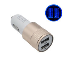 1PC Universal In Car Charger Socket Adapter PlugDual USB Twin Port 12V/24V DP