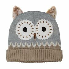 Aroma Home Click & Heat Cosy Hat Owl With Reusable Heat Packs Fleece Gift Boxed