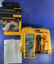 New Fluke 179 Trms Multimeter Hard Case Accessories Screen Protector Box