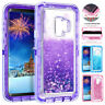 360° Bling Sparkle Heavy Duty Case for Samsung Galaxy S10 S9 S8 Plus Armor Cover