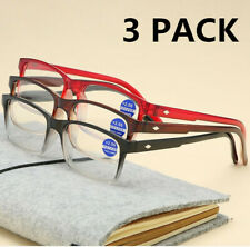 3 PACK Anti Blue light Reading glasses Gradient frames for reader +1.0 to +4.0