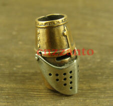 """Knight helmet"" style Brass Lanyard Bead Paracord beads for Knife Tool LB252"