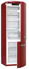 Chambers CRBR-2412RR 12 cu ft Bottom Mount Retro Refrigerator in Bordeaux