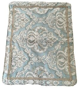 Biltmore For Your Home Blue /Gold Paisley Pillow Shams  (Pair)