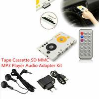 Car Telecontrol Tape Cassette SD Card MP3 Player Audio Stereo Remote Control &