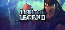 Brutal legend steam, game key, region free, global, row, US/EU/UK