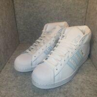 *New* adidas Men's Originals Pro Model Shoes White/Sky Tint Blue FV4492 Size 9.5