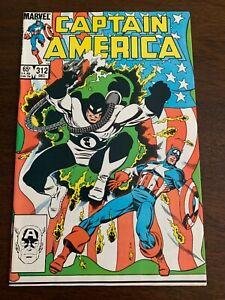 Captain America #312 (Aug 1992, Marvel) 1st Flag Smasher NM-
