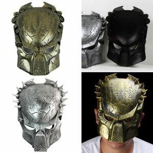 Predator Masks Halloween Cosplay Costume Horror Party Fancy Dress Masquerade
