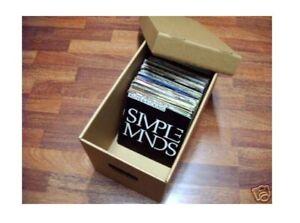ESPOSITORE UNIVERSALE per 180 dischi vinile 45 giri box valigia scatola mobile