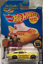 Hot Wheels A MEDIDA Aston Martin The Beatles Yellow Submarine Real Riders