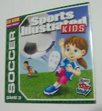 Wendy's Kids' Meal Sports Illustrated Kids Soccer Game 2 CD, FREE SHIPPING US!!