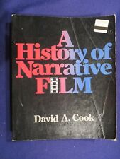 1981 A HISTORY OF NARRATIVE FILM Paperback Book by DAVID A COOK
