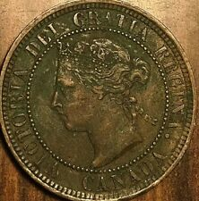 1888 CANADA LARGE CENT PENNY LARGE 1 CENT COIN