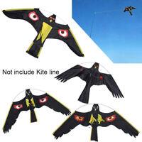 Bird Scarer Repeller Flying Hawk Kite Kit for Garden Scarecrow Yard Decoration