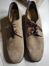 Vintage Men's Hush Puppies Duke Tan Lace Up Shoes Oxford Loafers 10.5 M Euc