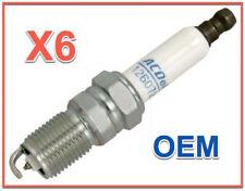 6 Spark Plugs Genuine OEM AcDelco Professional Rapidfire