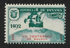 PANAMA 1935 UNISSUED COLUMBUS 1c MH VF (CX6)