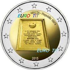 2 €    MALTE   2015   COMMEMORATIVE   370 000  exemplaires  NOUVEAU   disponible