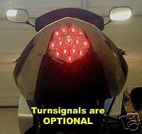 GSXR1000 k3 k4 LED luz de la cola claro integrado con Construido en Indicadores LED