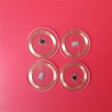 13.56MHZ MF 1K S50 NFC Tags Coin Card RFID Round Tag Card Diameter 25mm