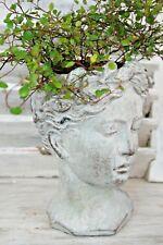 Pflanzbüste Frauenkopf Pflanztopf  Frauenbüste  Blumentopf Übertopf 2 Größen