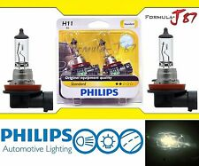 Philips Standard H11 55W Two Bulbs Fog Light Replacement Plug Play Lamp Halogen