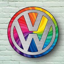 VOLKSWAGEN GRAND 0.6m GARAGE DÉCO MURAL IMAGE LOGO VW VEE DUB CAMPING CAR