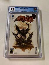 Detective Comics 1000 Cgc 9.8 2010's Capullo Variant Cover Dc Comics Batman