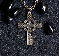 Celtic Cross Viking Necklace Norse Pendant Acient Symbol Viking Jewelry :...