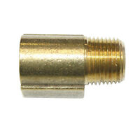 "Solid Brass Street Pipe Elbow Fitting 3/8"" NPT 90 Degree male female air FST66E"