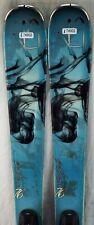 14-15 K2 Potion 76 Used Women's Demo Skis w/Bindings Size 142cm #174902